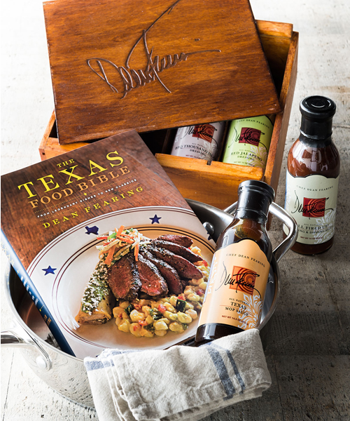 Chef Dean Fearing Grill Gift Set