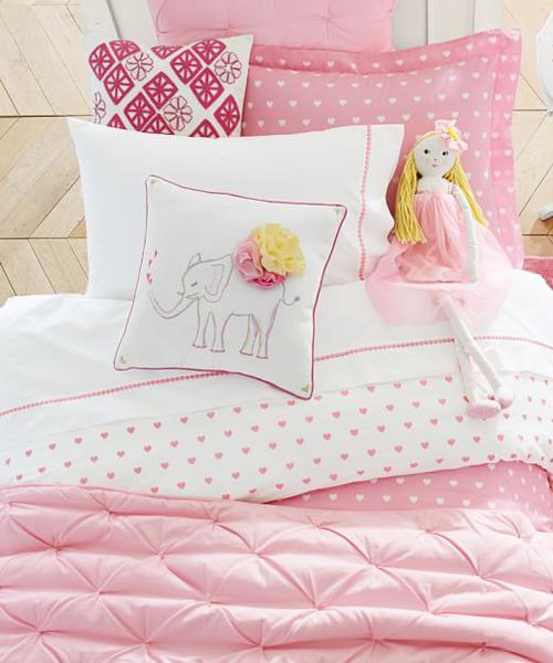 Girls Bedding Quilt Bailey Ruffle Quilt