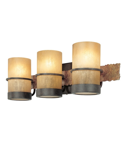 Rustic vanity lighting bamboo vanity light mozeypictures Images