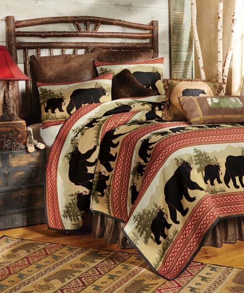 Black Bear Lodge Bedding