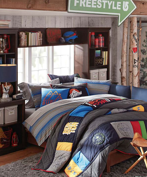 Burton Teen Boy Bedding