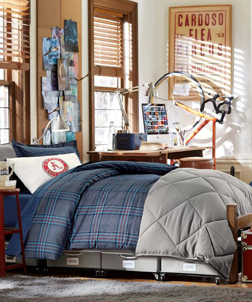 Boys Solid Color Bedding