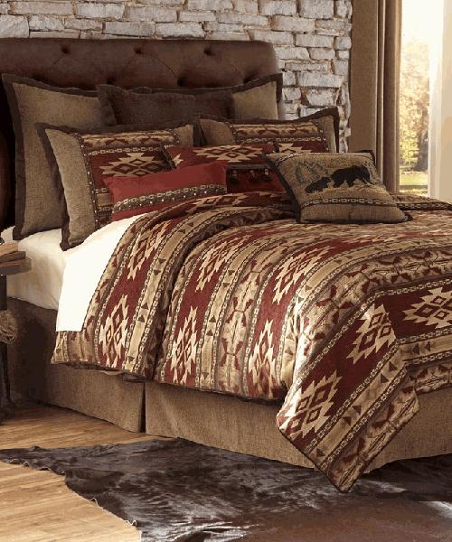 Desert Rust Bedding