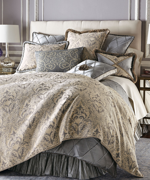 Luxury bedding designer bedding collections fine linens - Look contemporary luxury bedding ...