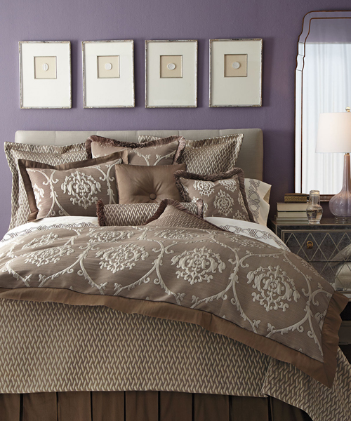 By Color: Brown Bedding