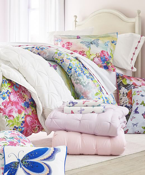 Eliza Floral Butterfly Bedding