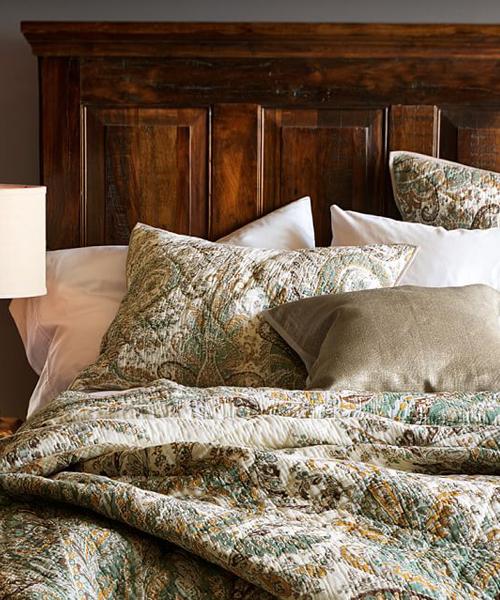Ellis Neutral Bedding Quilt