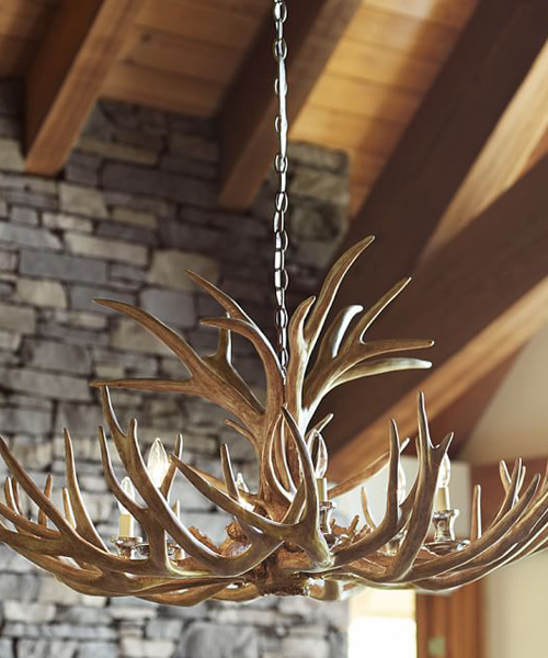Rustic Chandeliers: Antler Chandelier,Lighting