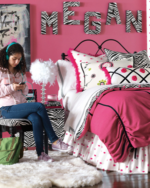 Girls Designer Bedding Talula