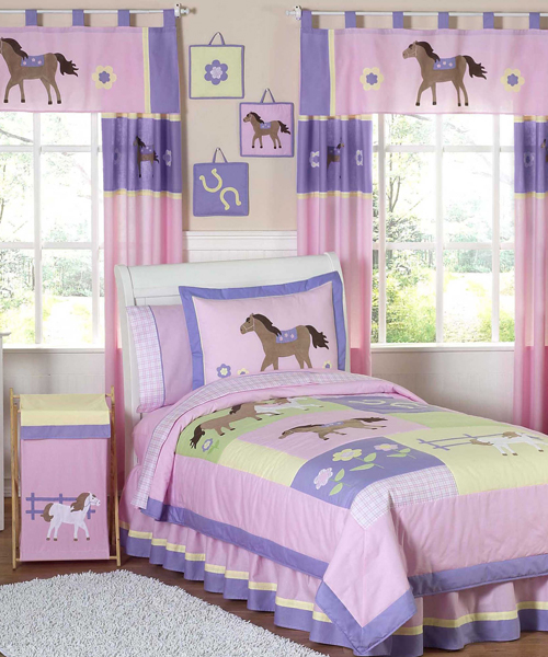 girls horse bedding cowgirl pony bedding sets