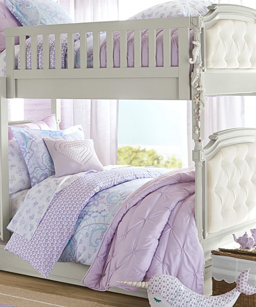 Little Girls Bunk Bed