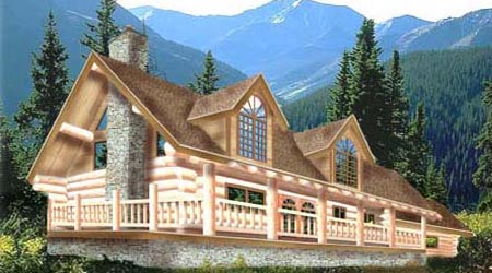 Log Home Plan 2