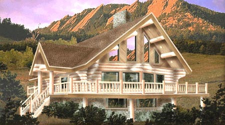 Log Home Plan 4