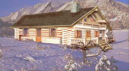 Log Home Plan 7