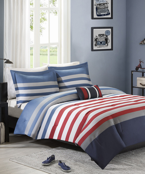 Contemporary Boys Bedding