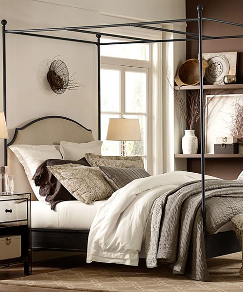 By Color: Earth Tone Bedding