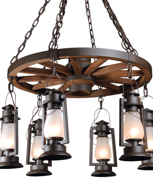 Rustic Chandeliers: Pioneer Rustic Chandelier,Lighting