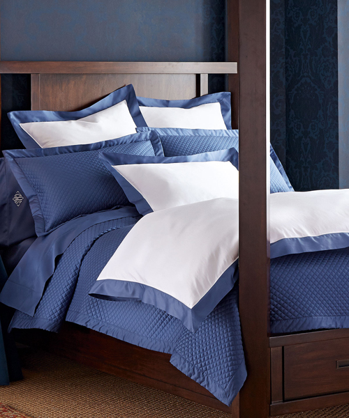 By Color: Blue Bedding