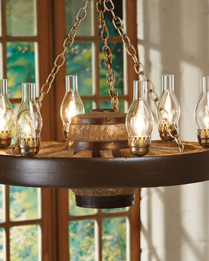 Rustic lighting fixtures a log cabin store for Log cabin chandelier