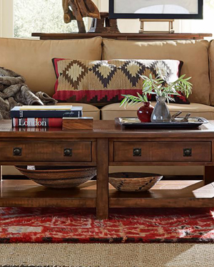 Rustic Coffee Tables and Accent Tables