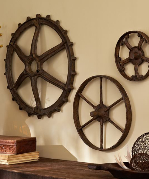 Rustic Decor Gears