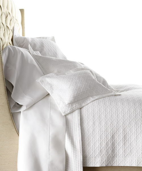 By Color: White Bedding