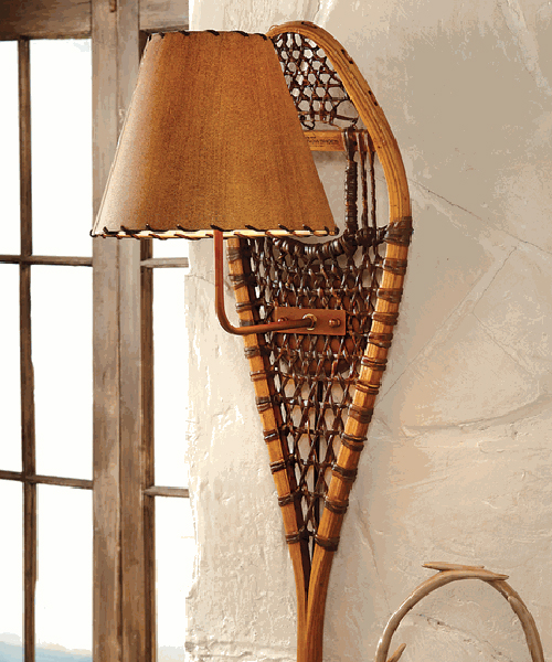Snowshoe Wall Lamp