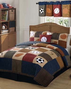 Kids Bedding Sports