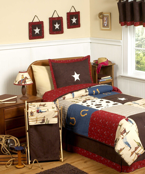Cowboy Bedding - Western Bedrooms