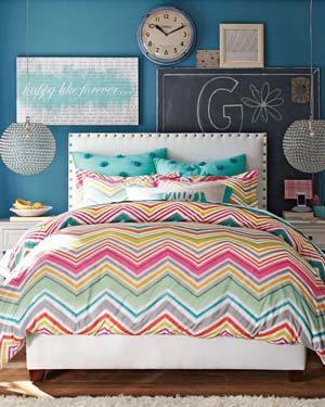 Zig Zag Twin XL Bedding