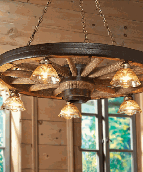 Rustic chandeliers farmhouse lodge cabin lighting western chandelier aloadofball Image collections
