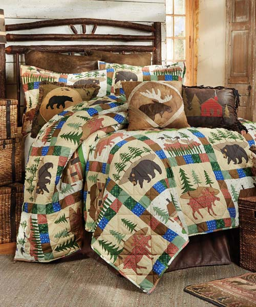 Rustic Quilts Rustic Bed Amp Bath Quilt Sets