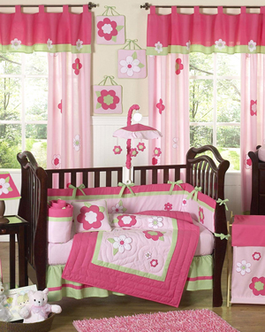 Floral Crib Collection