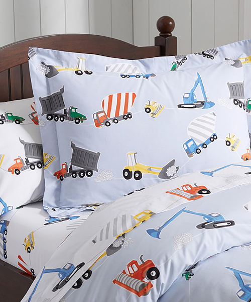 Construction Duvet
