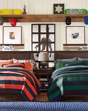 Boys Dorm Bedding