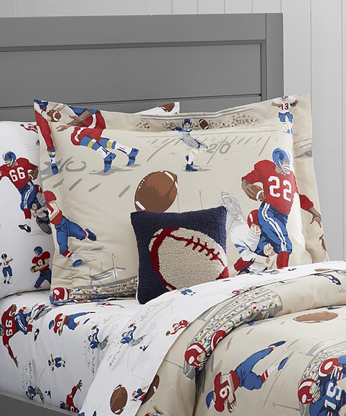 Boys Sports Bedding | Football Duvet Cover