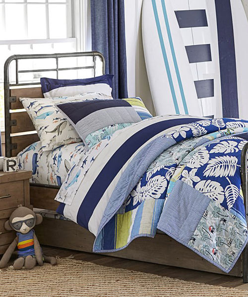 Boys Surf Bedding - Pacific Surfing Beach Bedding : surf quilt cover - Adamdwight.com
