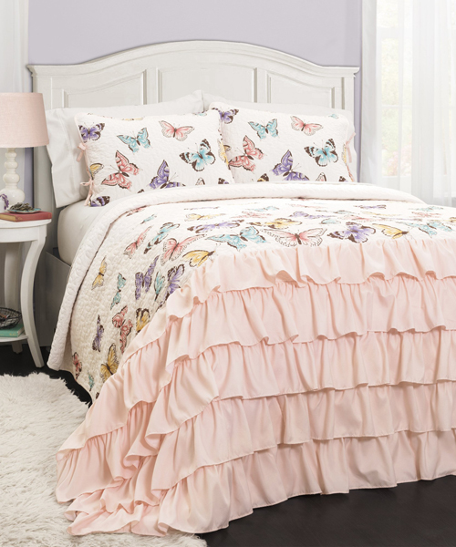 Butterfly Kids Bedding