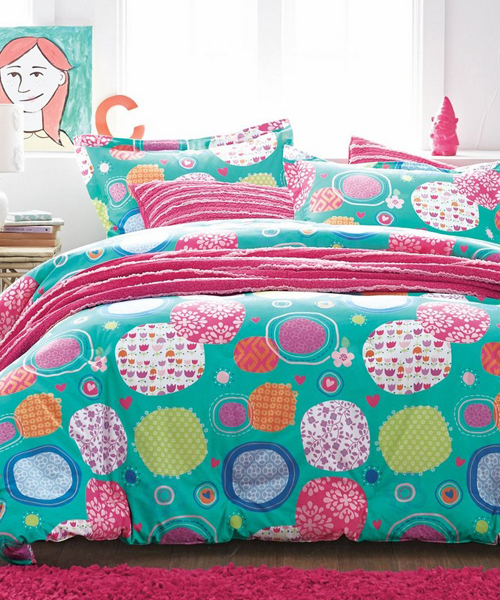 Colorful Comforter Set