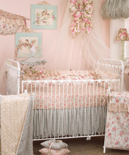 Cotton Tale Baby Girl Bedding