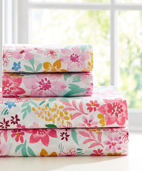 Floral Sheet Set