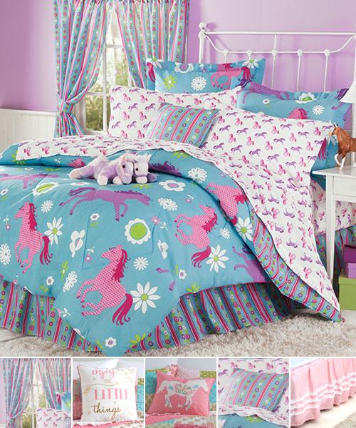 Flower Ponies Bedding