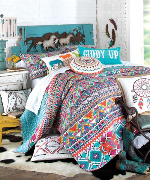Teen Cowgirl Bedding