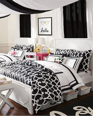 Girls Dorm Bedding