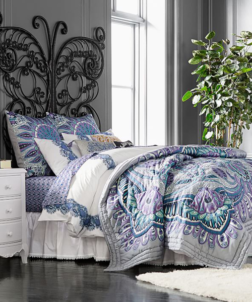 Girls Paisley Quilt