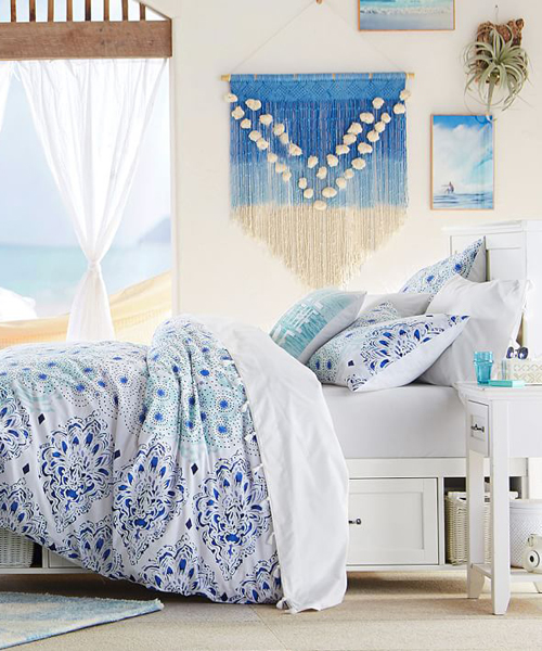 Girls Tropical Bedding
