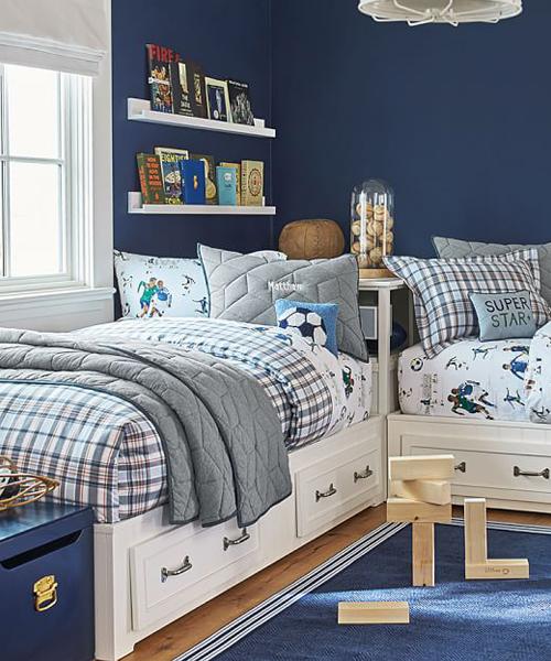Boys Quilt Bedding Set
