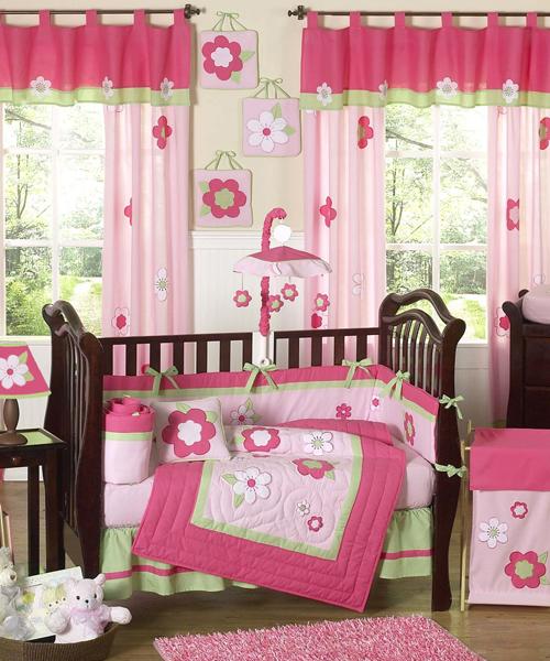JoJo Baby Girl Bedding Set