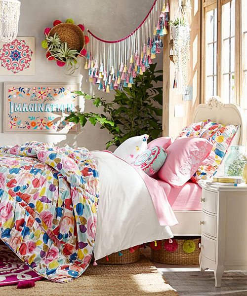 Lennon & Maisy Bohemian Teen Girls Quilt Set