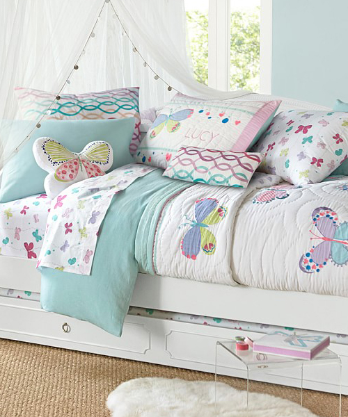 Lucy Kids Butterfly Bedding
